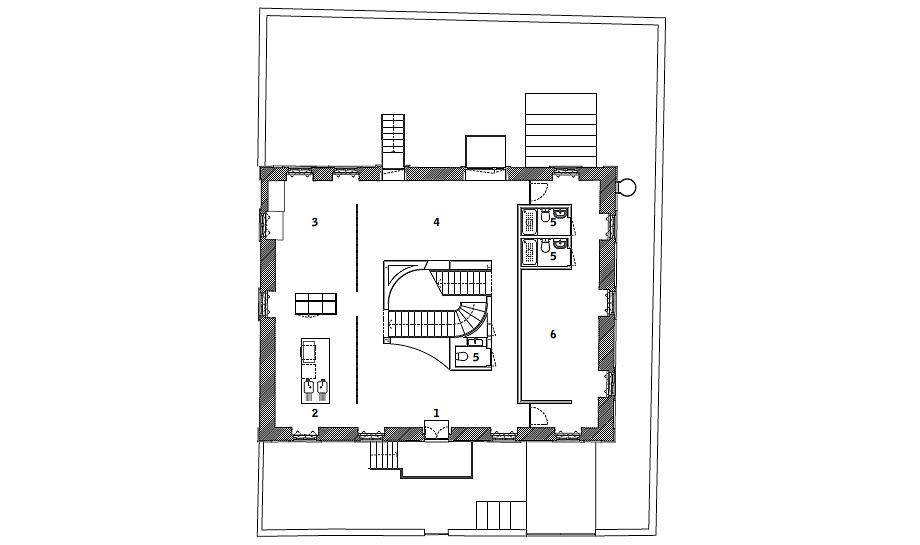 hostel na parede de aurora arquitectos - foto do mal o menos (43)