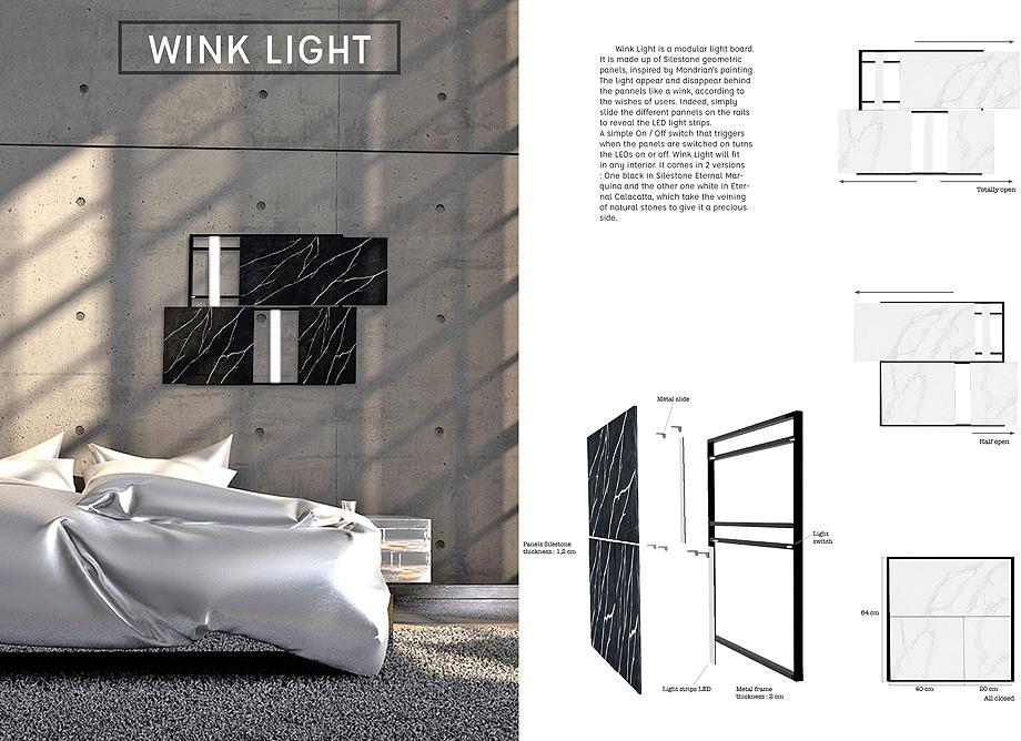 12. cosentino challenge 2018 wink light de julie lefranc (ESAM Design)