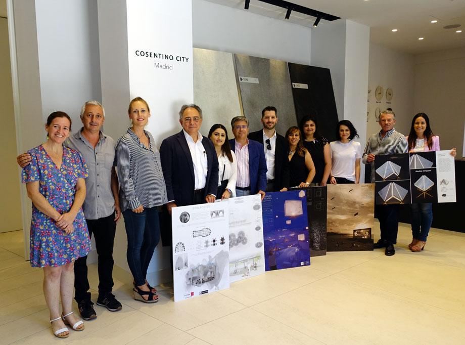 14. cosentino design challenge 12 jurado y paneles ganadores