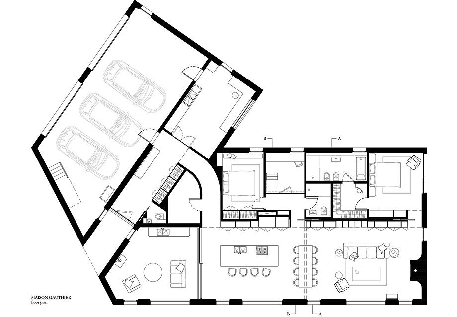 23 casa gauthier de atelier barda - plano (23)