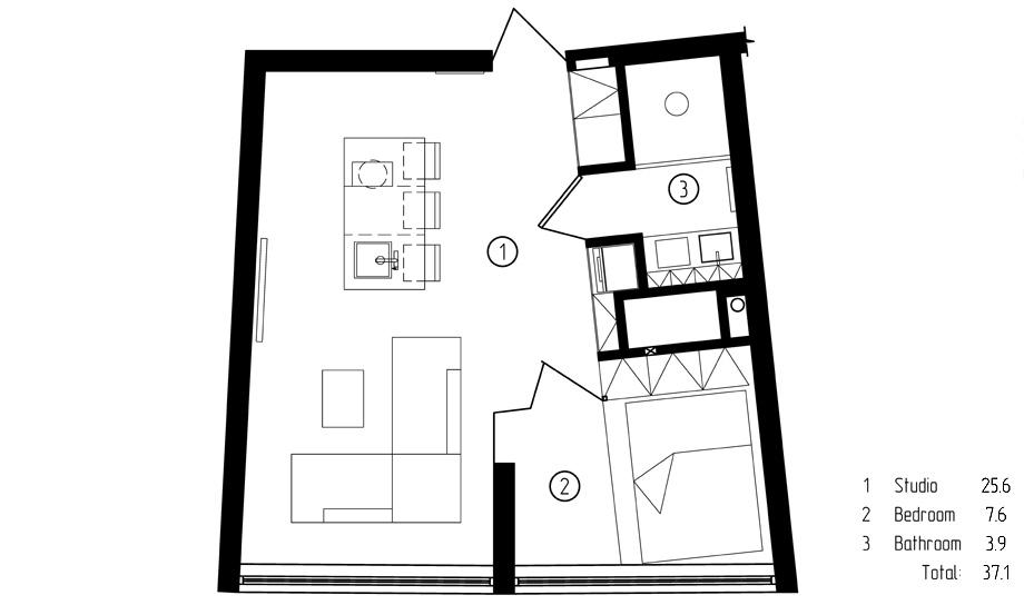 apartamento 191 en odessa de m3 architects - foto m3 architects (8)