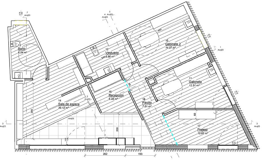 centro oftalmológico de nan arquitectos - foto ivan casal nieto (18)
