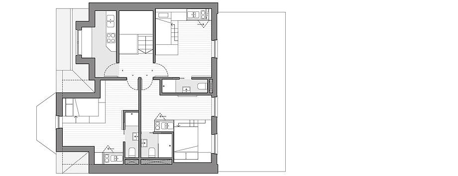 diseño interior de 18 micro-apartamentos en londres por laura encinas planimetría (4b)