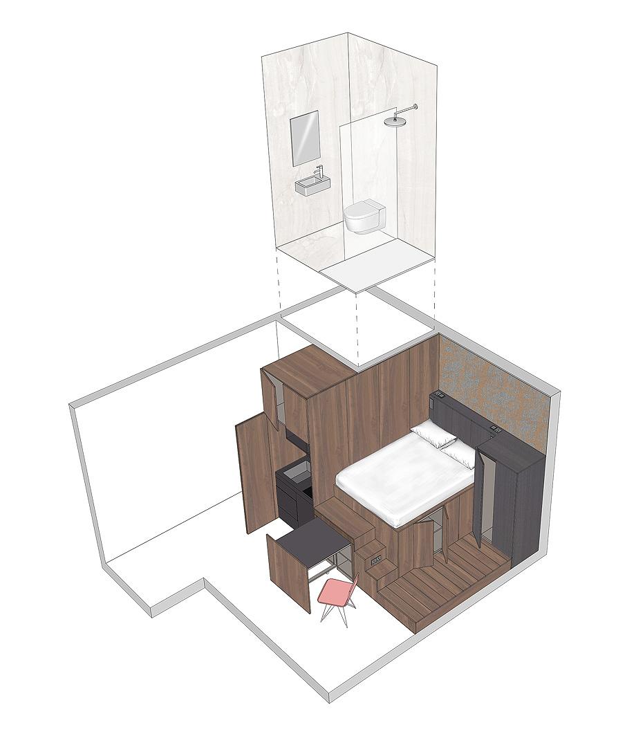 diseño interior de 18 micro-apartamentos en londres por laura encinas planimetría (6)