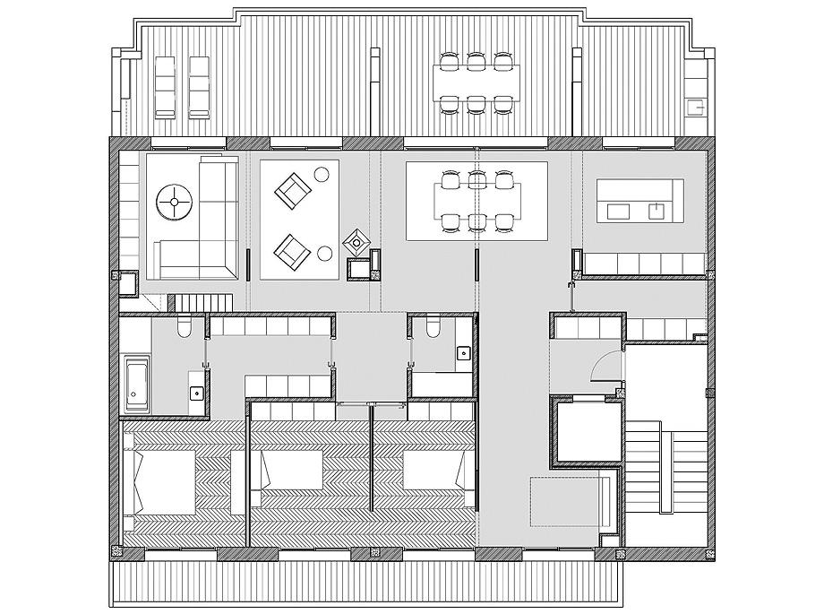 duplex en a guarda de castrofierro arquitectos - plano (34)