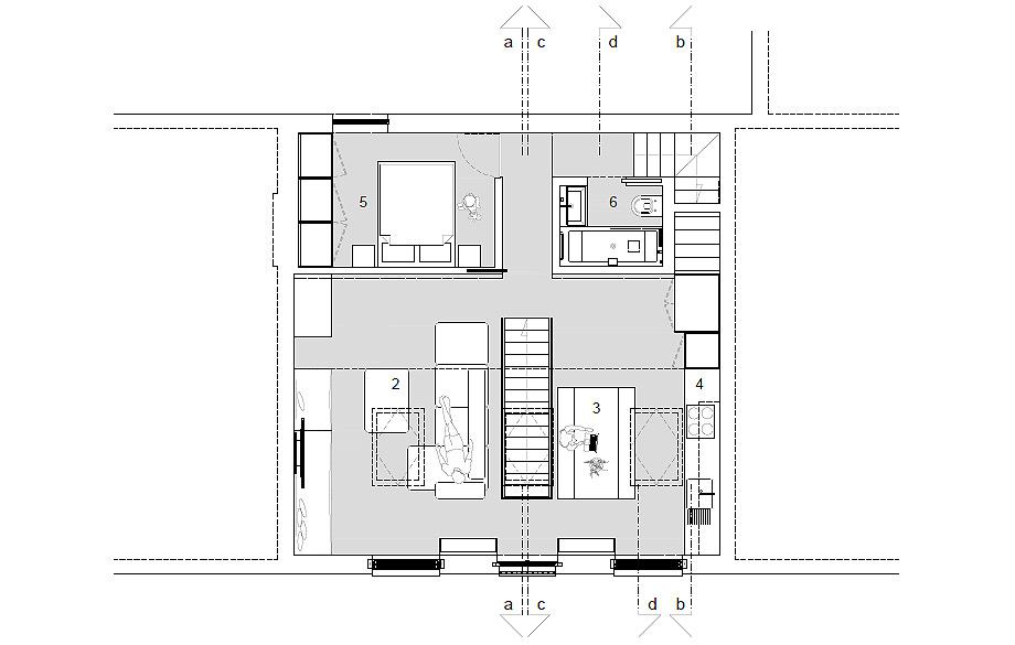 loft olympia de daniele petteno - planimetria (23)