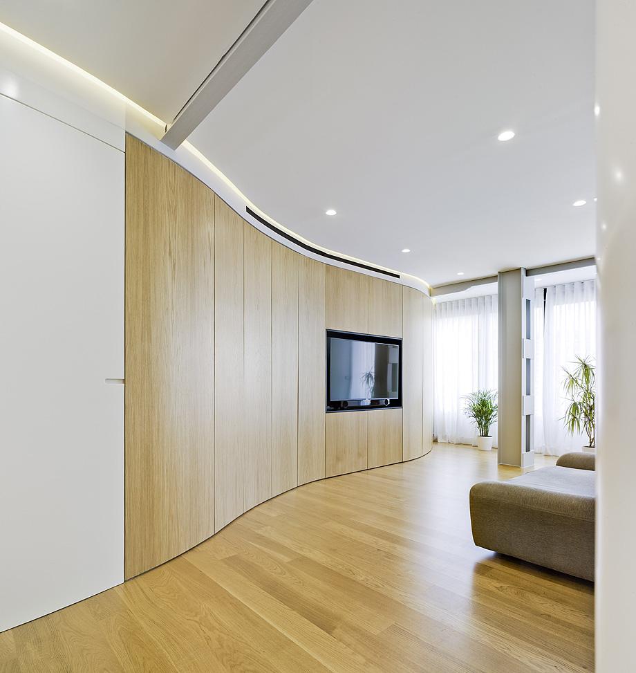 Reforma de un apartamento en el edificio Alba de Murcia.