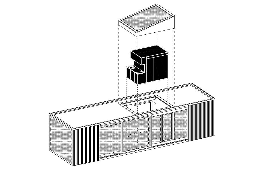 cabaña en eslovaquia de ark shelter - planos (21)