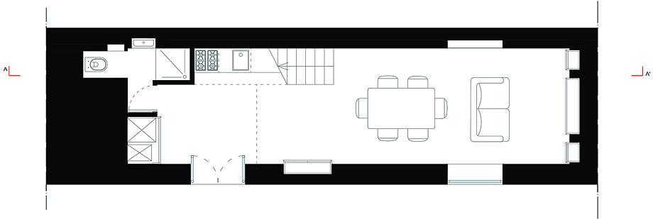 casa a223 de studio DiDeA - plano (16)