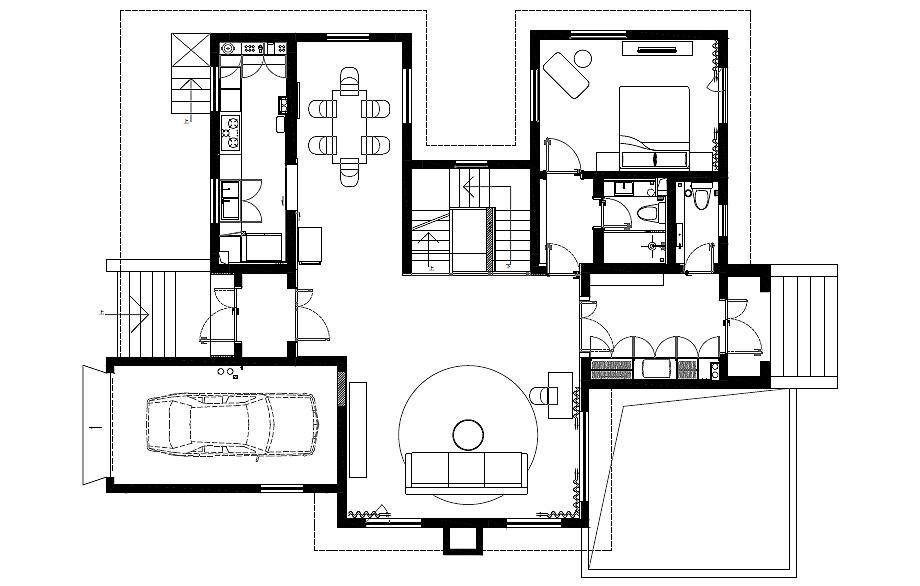 la casa del perro de atelier about architecture - plano (23)