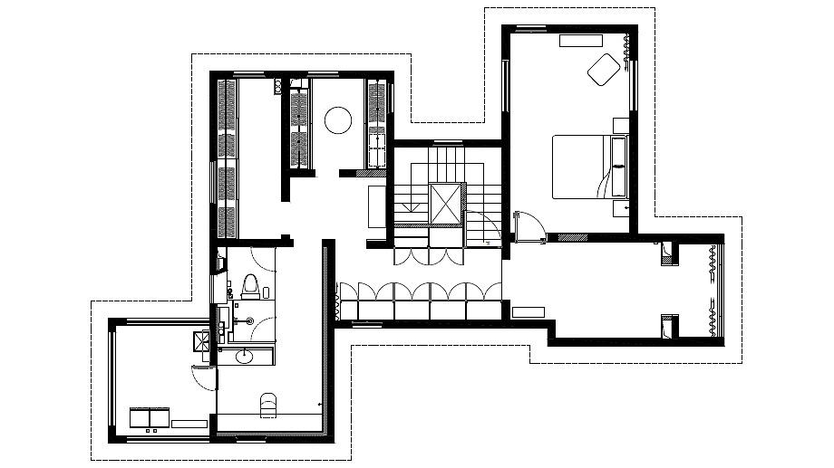 la casa del perro de atelier about architecture - plano (25)