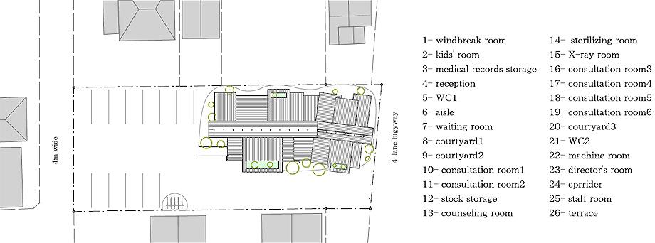 clínica dental nk de 1-1 architects - plano (18)