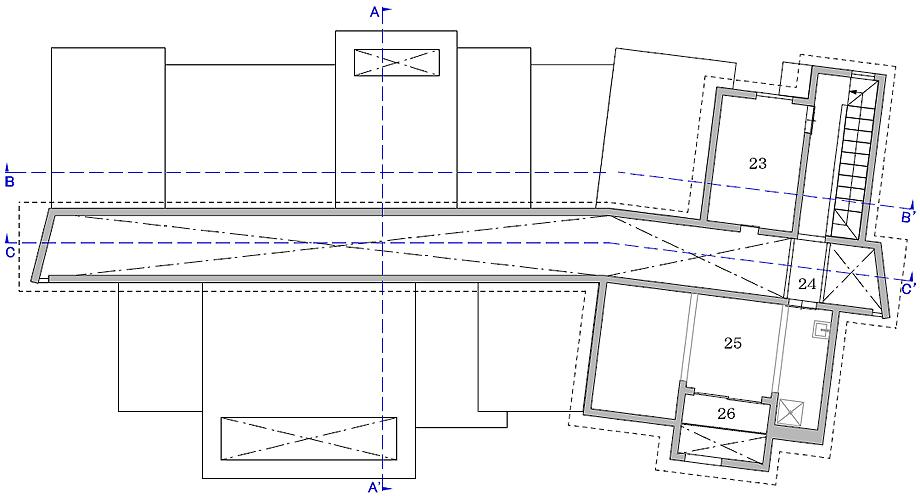 clínica dental nk de 1-1 architects - plano (20)