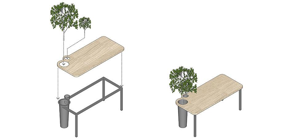 oficina con plantas de towodesign - muebles (30)