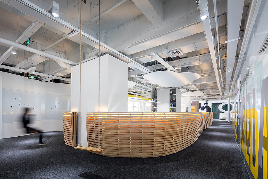 oficinas de diseño ambiental de shiyue media por cun design (20)