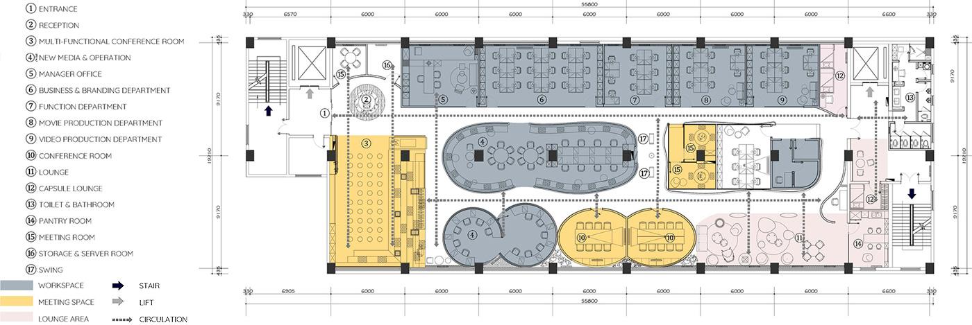 oficinas de diseño ambiental de shiyue media por cun design (25)