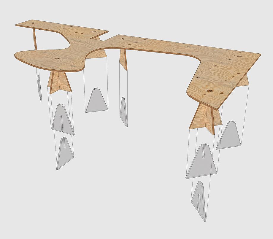 oficinas ineltron de as-built -detalle mesas (18)
