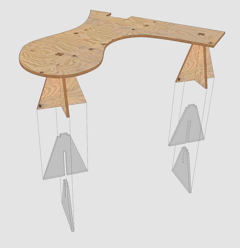 oficinas ineltron de as-built -detalle mesas (19)