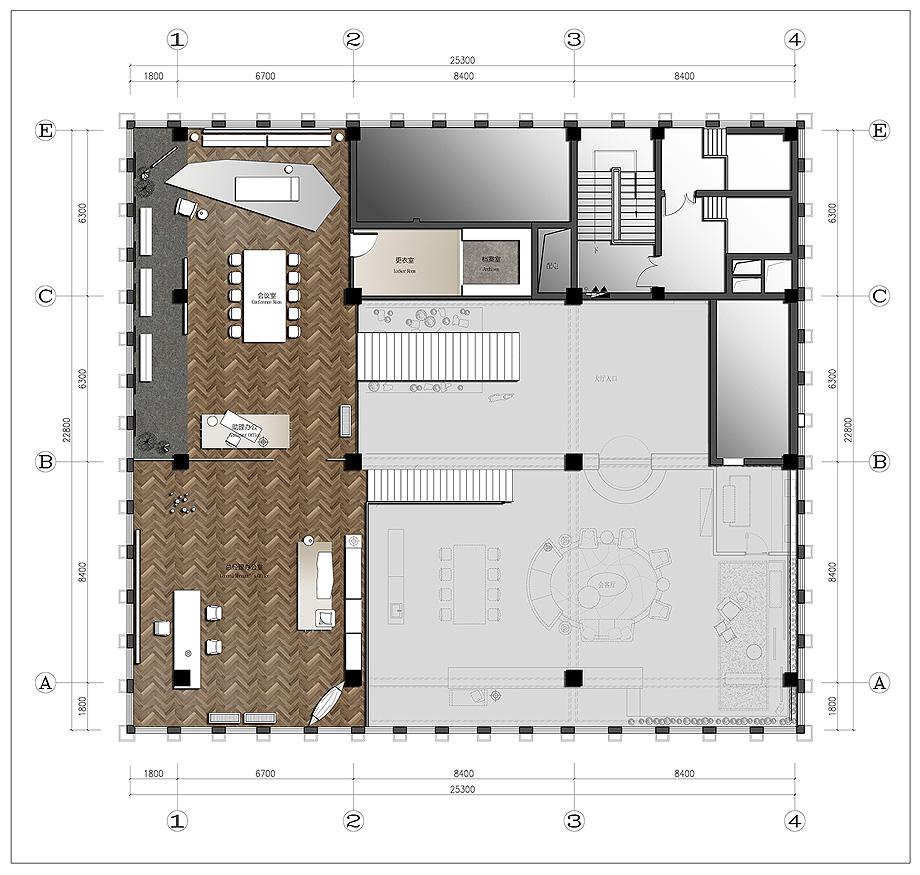 oficinas de tkstyle de jacky.w design - plano (23)