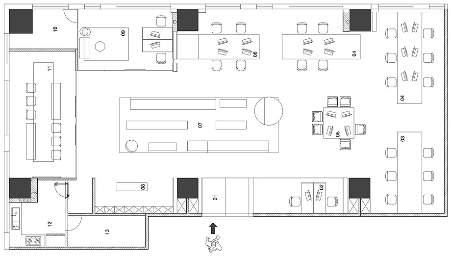 oficinas xzone de ad architecture - foto ouyang yun (23)