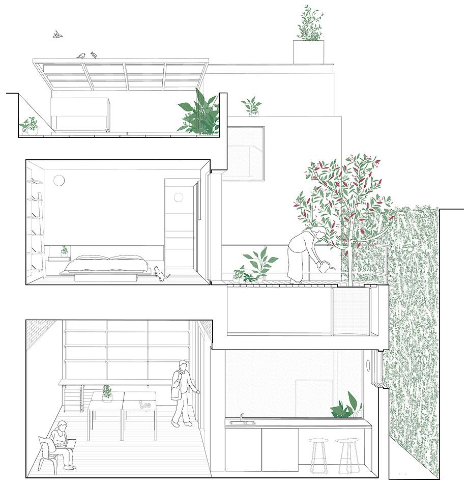 reforma vivienda ph thames por alonso & crippa - planimetría (27)
