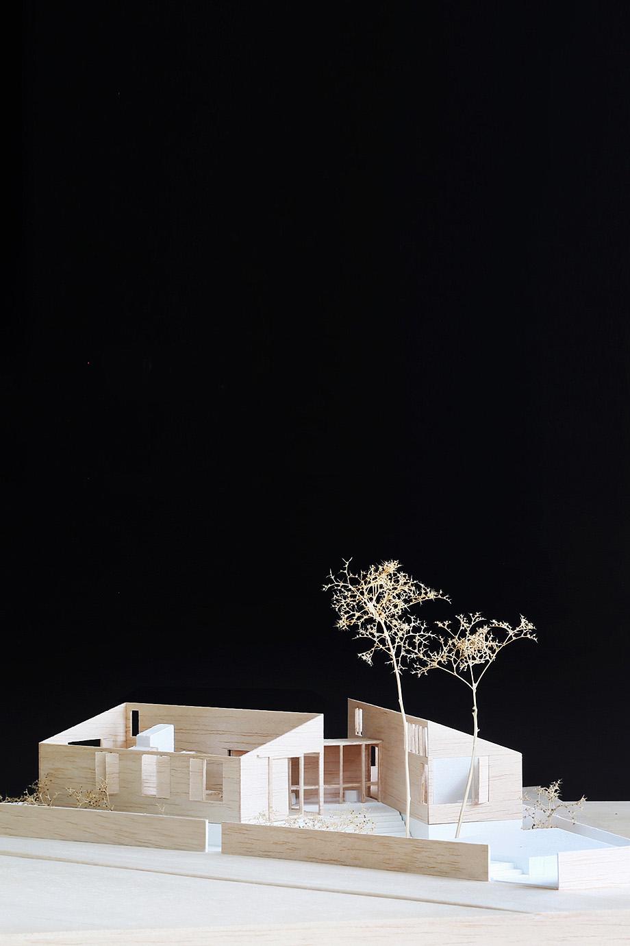 three piece house de trias - maqueta (38)