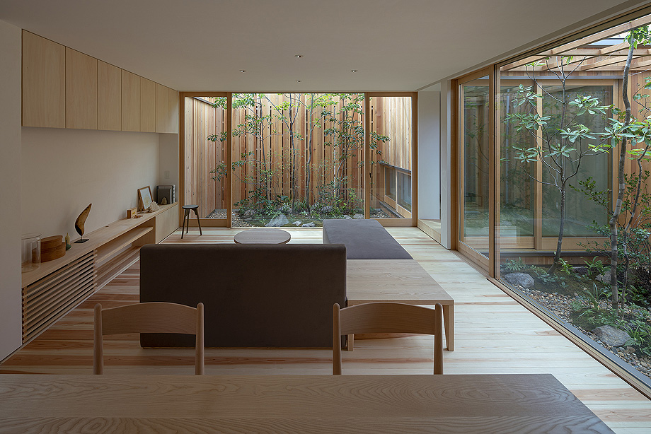 casa en akashi de arbol - foto yasunori shimomura (10)