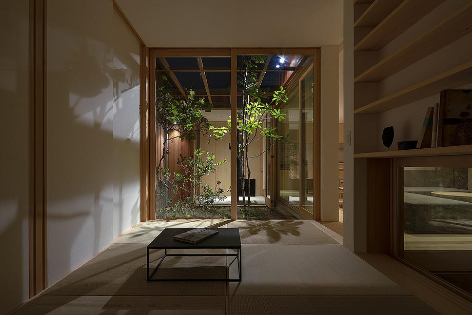 casa en akashi de arbol - foto yasunori shimomura (24)