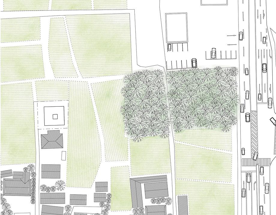 三田の家 敷地図