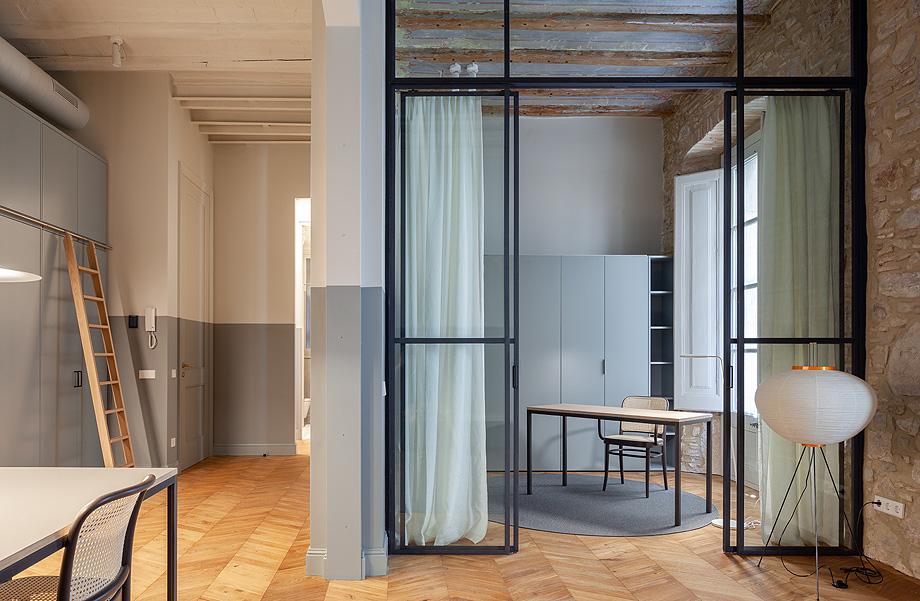 Reforma De Dos Apartamentos En Girona Por Maite Prats