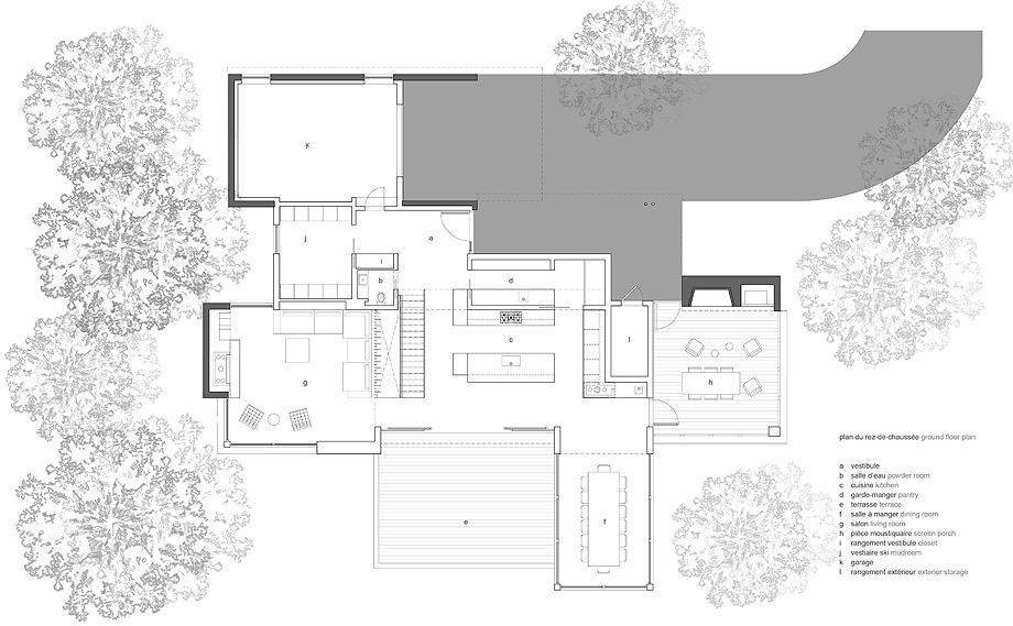 casa de thellend fortin architectes - plano (19)