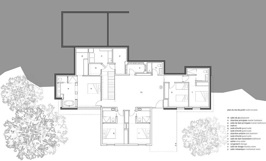 casa de thellend fortin architectes - plano (20)
