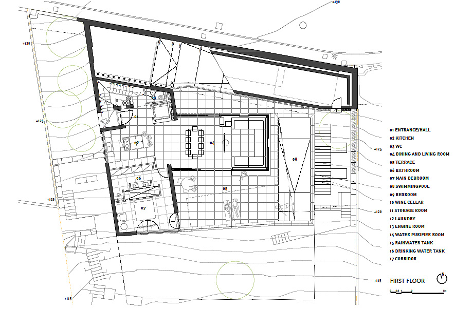 casa forbes de miel arquitectos - plano (30)