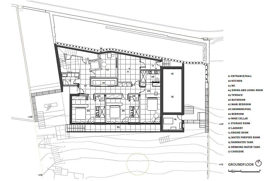 casa forbes de miel arquitectos - plano (31)