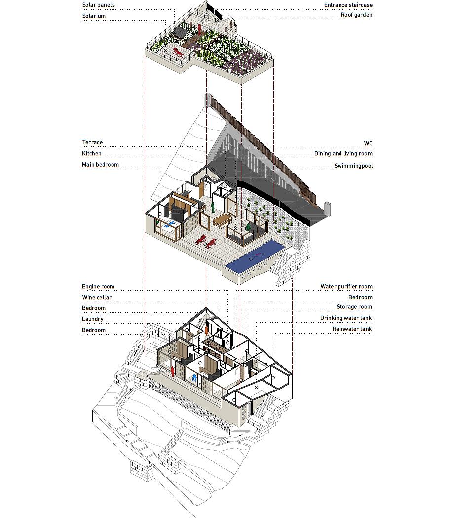 casa forbes de miel arquitectos - plano (33)
