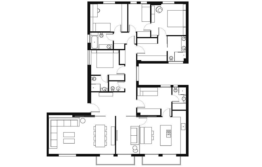piso en pamplona por hernandez arquitectos - plano (23)