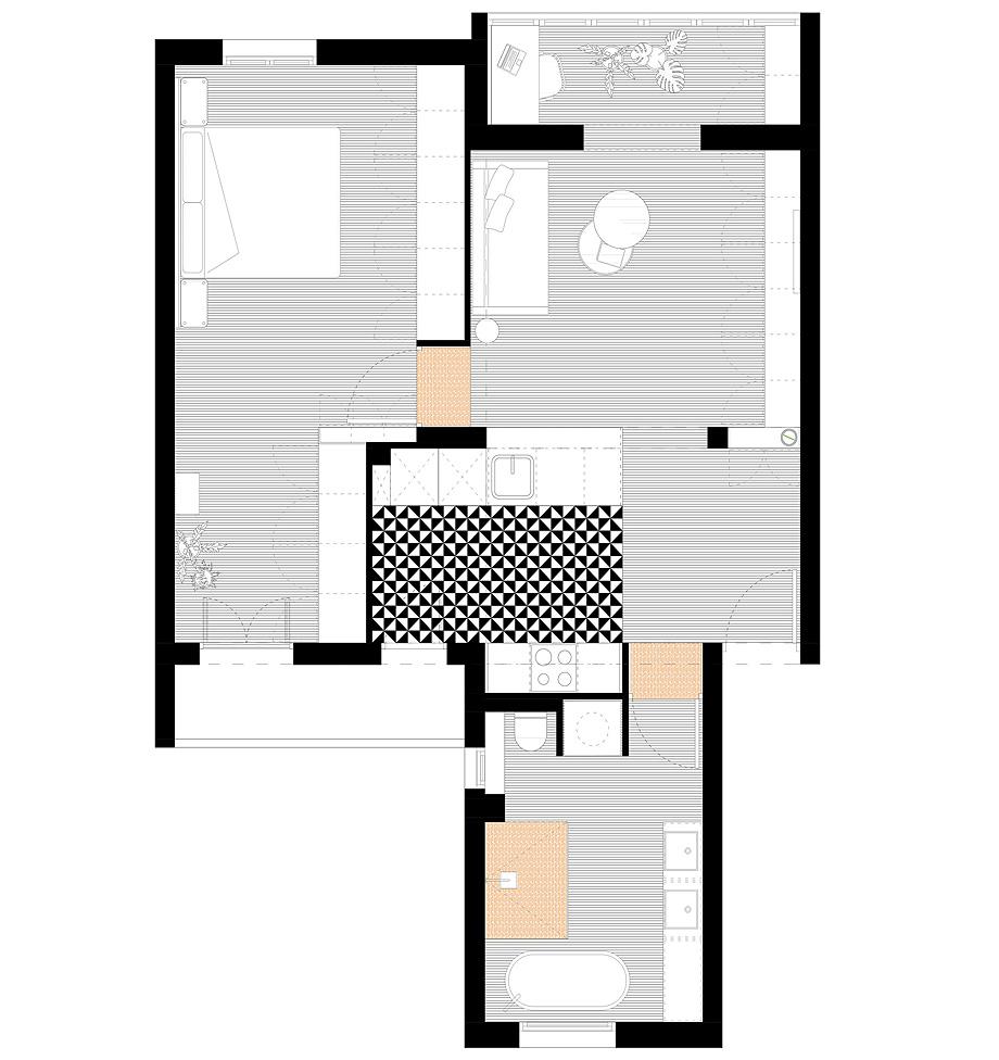 reforma vivienda por estudio amasl - plano (15)
