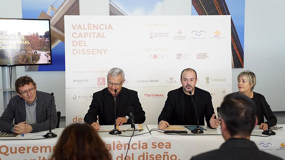 Valencia presenta su candidatura a Capital Mundial del Diseño (1)