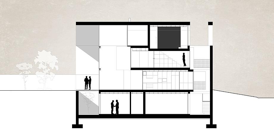 casa do arco de frari architecture network - plano (52)
