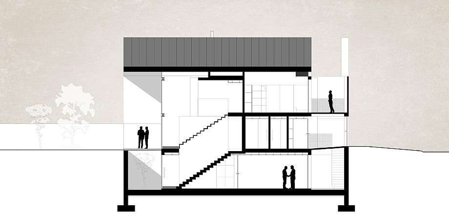 casa do arco de frari architecture network - plano (53)