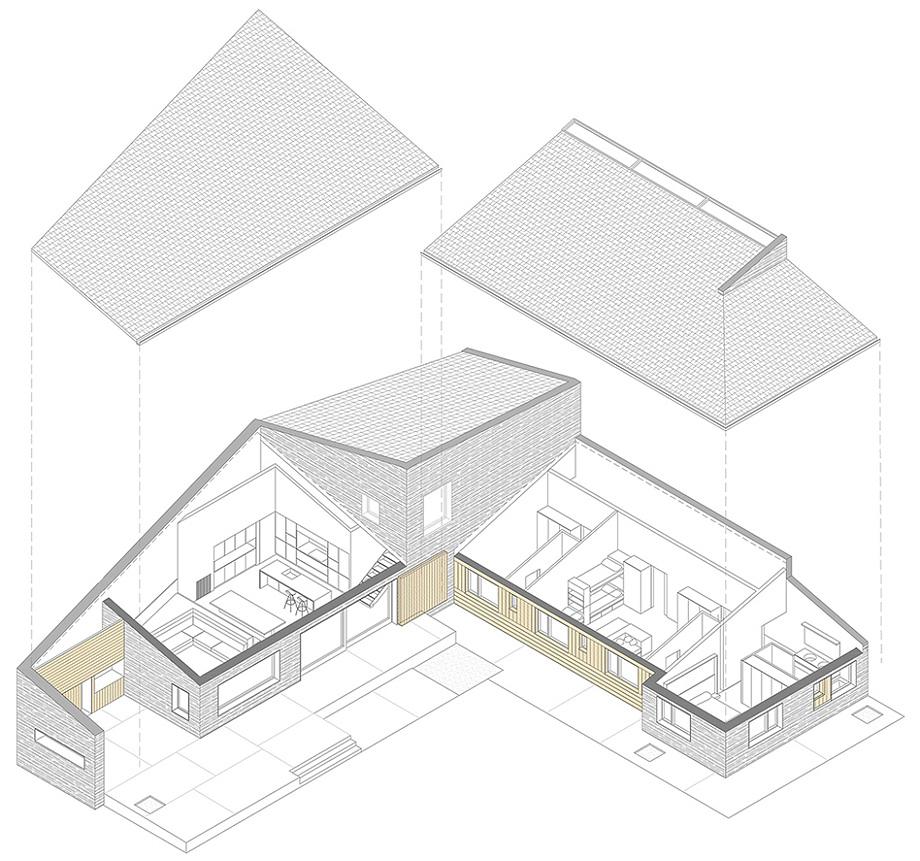 casa en la cerdanya de dom arquitectura y traç santos - plano axonometría (31)