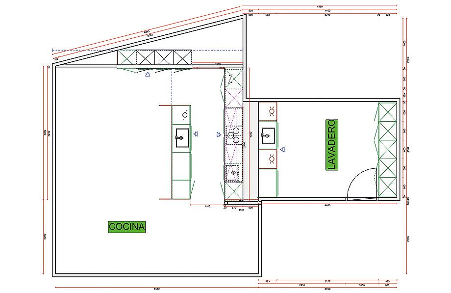 casa en la cerdanya de dom arquitectura y traç santos - plano planta cocina (30)
