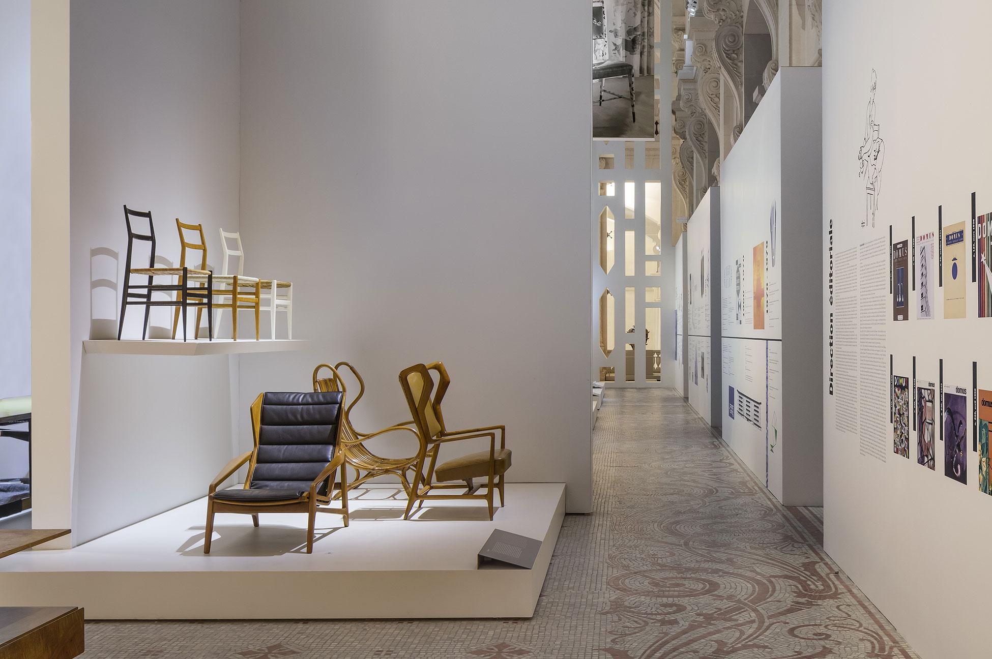 Exposiciones dedicadas a Gio Ponti y Olivari en París
