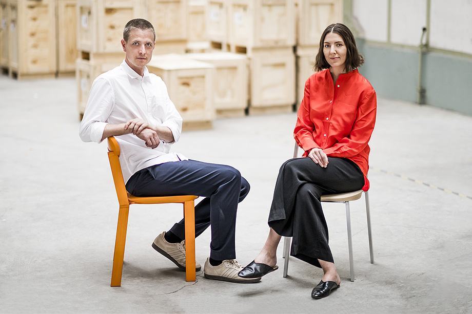 Kate und Joel Booy (Studio Truly Truly) Foto: Lutz Sternstein; Koelnmesse Kate and Joel Booy (Studio Truly Truly) Photo: Lutz Sternstein; Koelnmesse