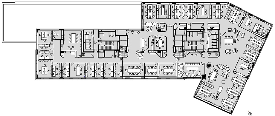 oficinas lucron de cechvala architects - plano (30)