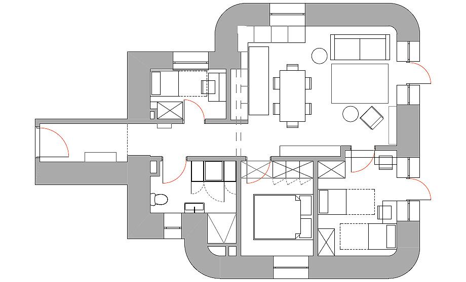 apartamento en varsovia de loft kolasinski - plano(25)