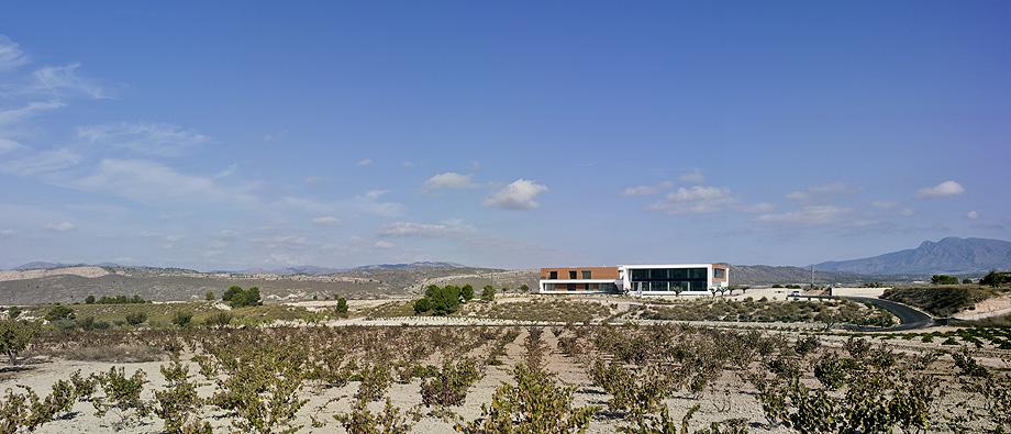 Nuevas bodegas Casa Rojo en Jumilla.