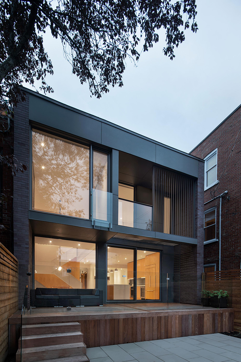 casa en montreal de naturehumaine - foto adrien williams (13)