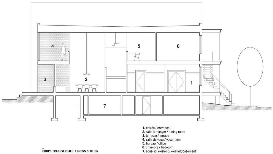 casa en montreal de naturehumaine - plano (17)