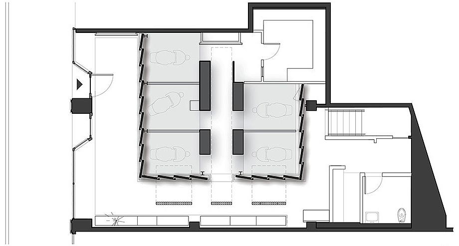 studio dental II de montalba architects - plano (16)